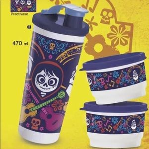 Coco tumbler and snack containers